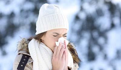 بررسی آلرژی های شایع در فصل زمستان
