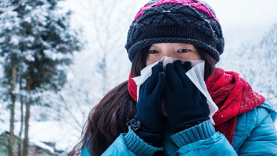 آلرژی فصل زمستان و راه های جلوگیری از آن