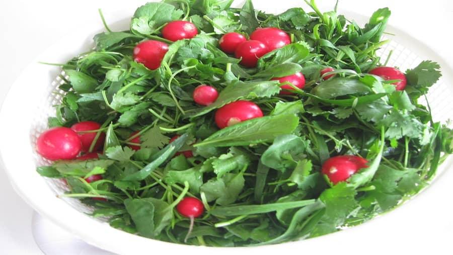 سبزیجات یک رژیم غذایی مناسب برای لاغری