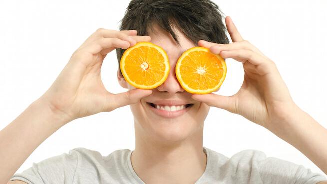 خواص پرتقال بر سلامت چشم