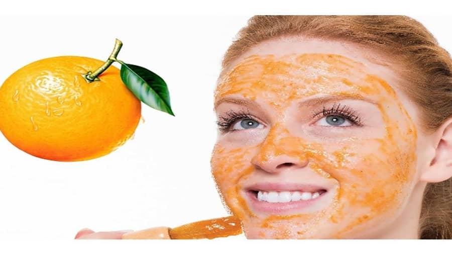 برای داشتن پوست روشن از ماسک پوست پرتغال استفاده نمایید