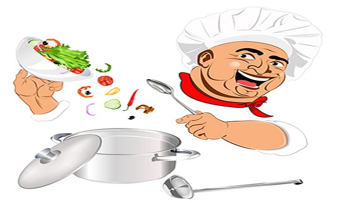 ترفند سر آشپز شدن