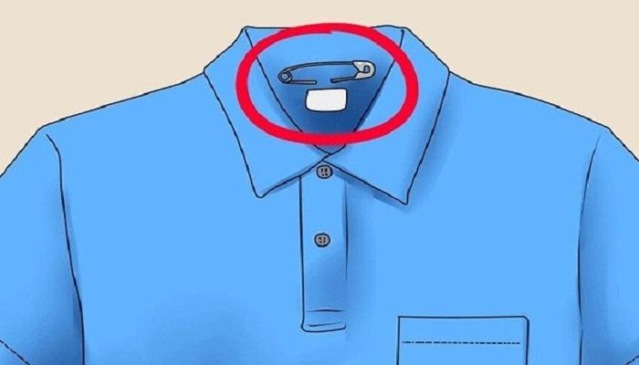 برای رفع الکتریسیته از سنجاق استفاده کنید.