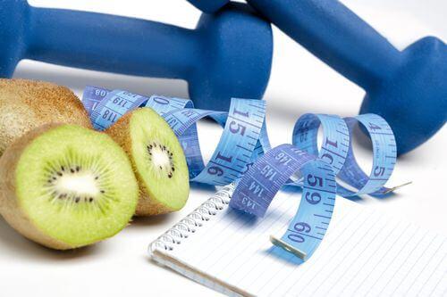 خواص کیوی و کاهش وزن