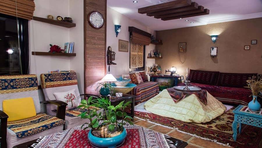 دکوراسیون منزل به سبکی سنتی