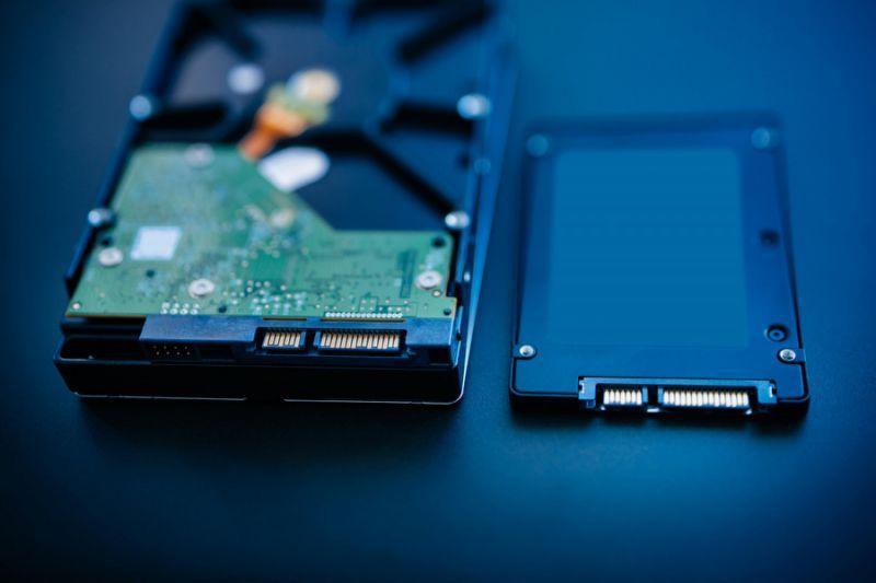 تأثیر SSD و HDD در کامپیوتر و لپ تاپ