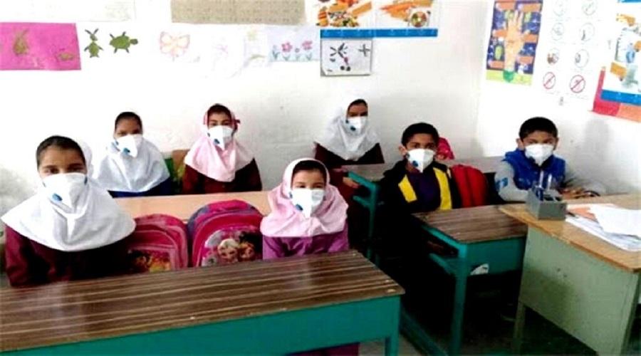 آخرین روز مدرسه ابتدایی ها در سال تحصیلی کرونایی