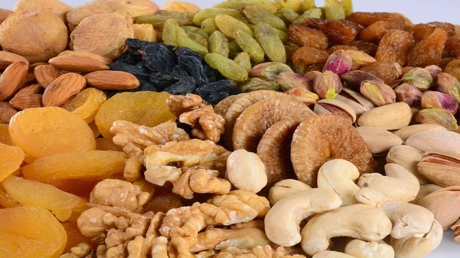 فواید میوه خشک برای لاغری