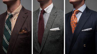 ست کراوات با کت و شلوار