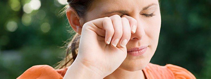 خارش چشم از عوارض آلرژی وحساسیت