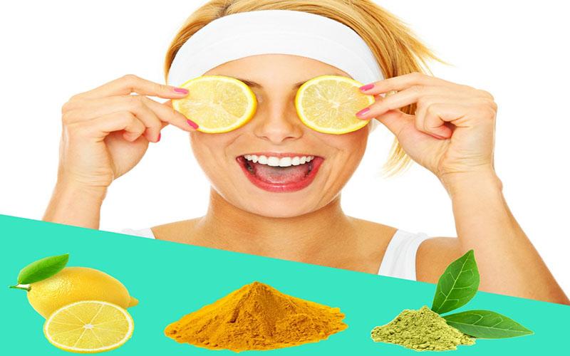 ترکیب چاس سبز، زرد چوبه و لیمو ترش ماسکی عالی برای پوست است.