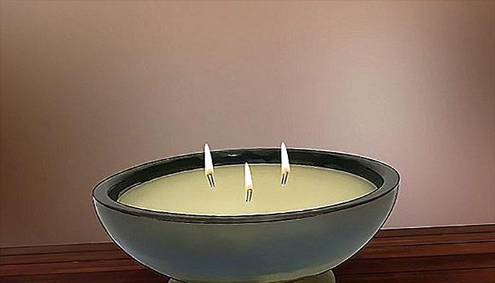 آموزش ساخت شمع سیترونلا.