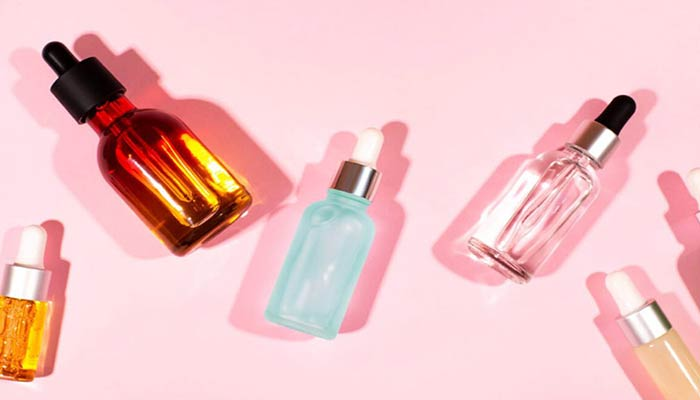 استفاده از بطری های شیشه ای.