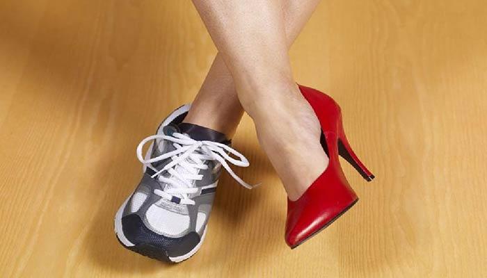 انتخاب کفش مناسب.
