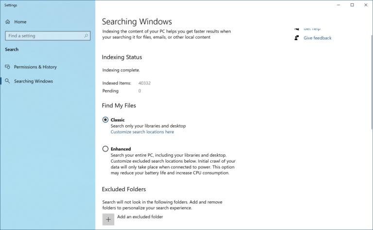 ترفند جستجوی پیشرفته در ویندوز 10