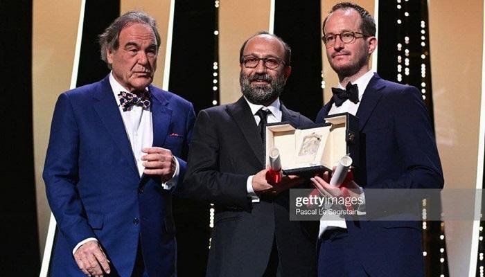 جایزه کن اصغر فرهادی