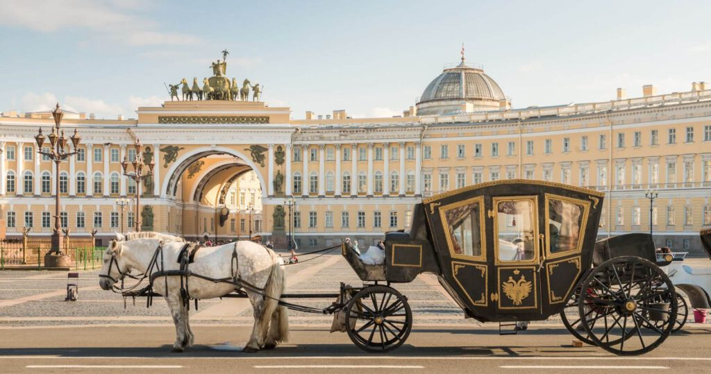 موزه ارمیتاژ / کاخ زمستان سنت پترزبورگ