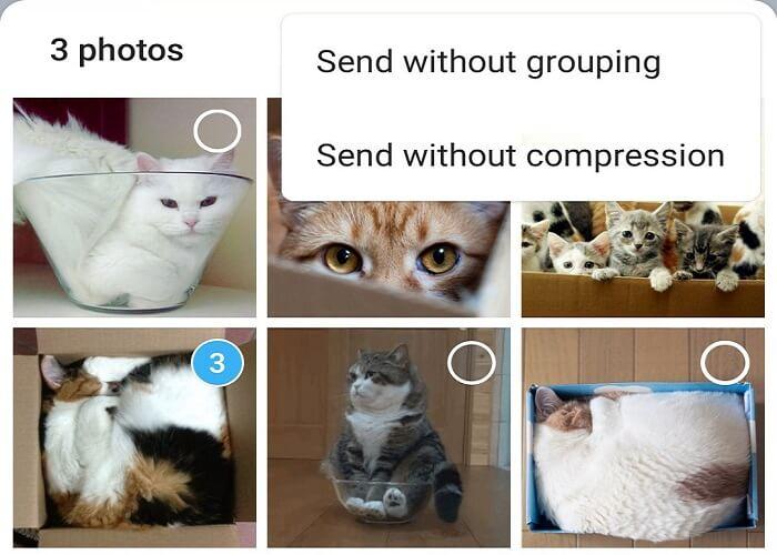 ترفند ارسال رسانه به صورت فشرده نشده در تلگرام