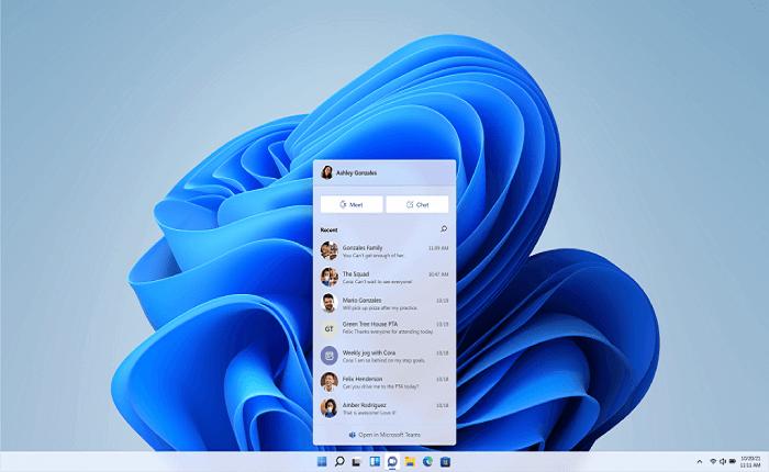 ارتباط سریع با دیگران در ویندوز 11