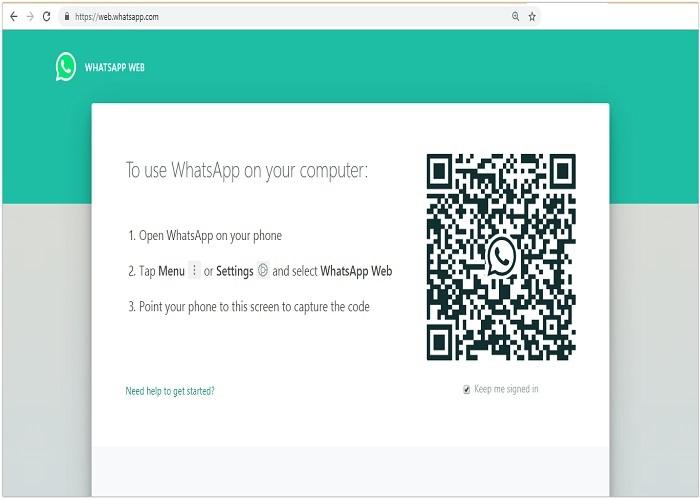 روش استفاده از وب واتساپ