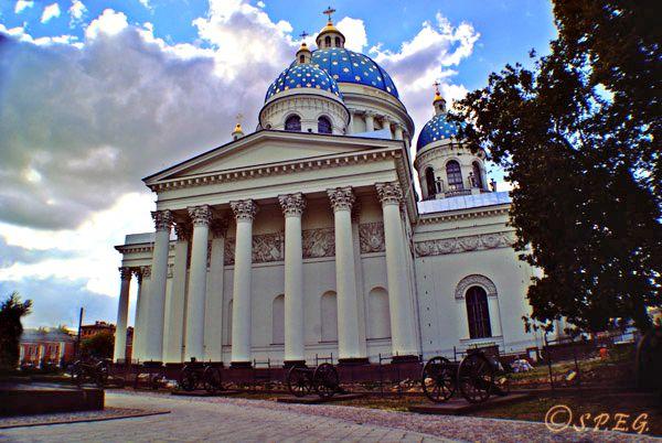 کلیسای سه گانه ی مقدس سنت پترزبورگ