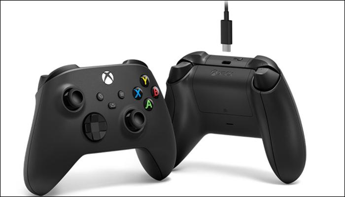 اتصال Xbox  به کامپیوتر با استفاده از کابل USB.