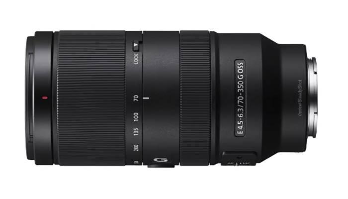 بهترین لنز سونی مدل Sony E 70-350 mm F4.5-6.3 G OSS