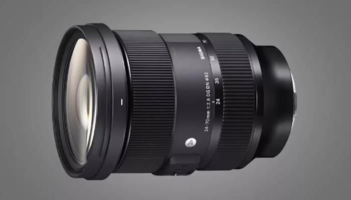بهترین لنز سونی مدل Sigma 24-70mm f/2.8 DG DN Art