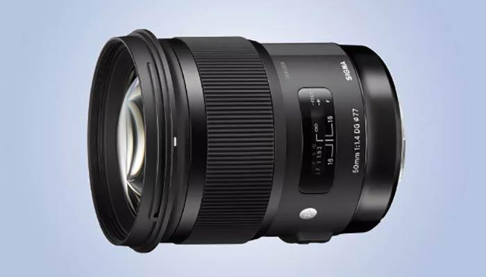 بهترین لنز سونی مدل Sigma 50mm f/1.4 DG HSM Art