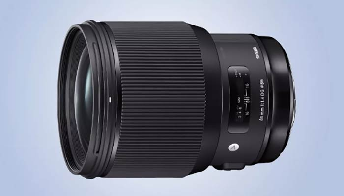 بهترین لنز سونی مدل Sigma 85mm f/1.4 DG HSM Art