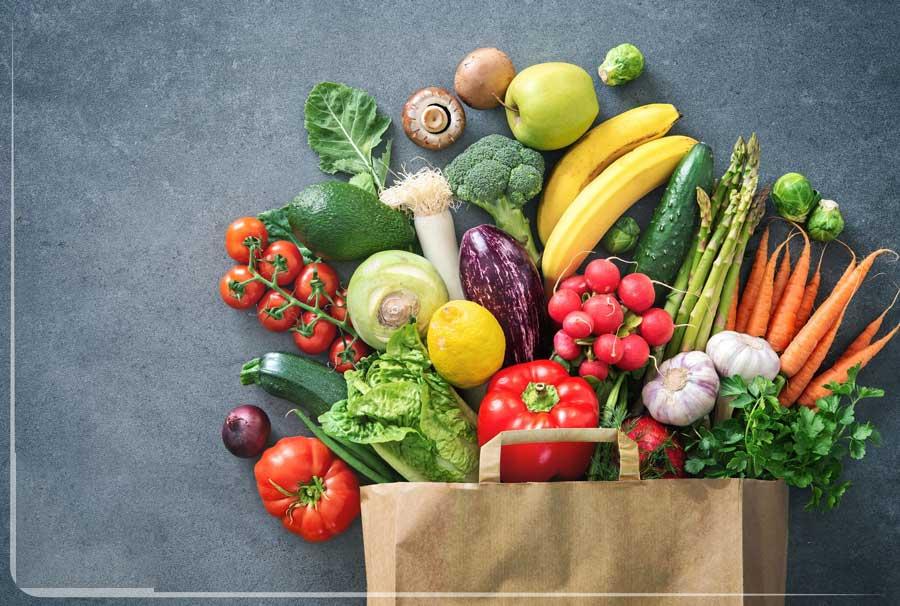 مصرف میوه ها و سبزیجات تازه به بهبود عملکرد بدن کمک می کند