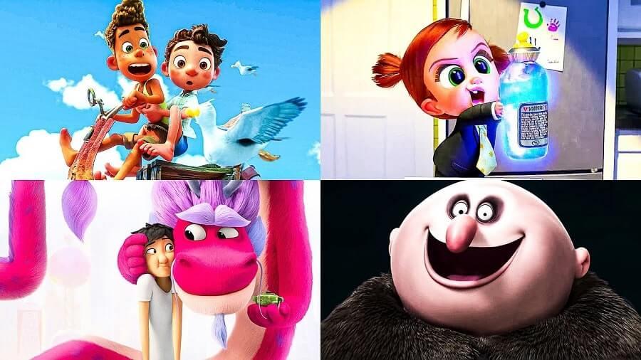 انیمیشن های 2021