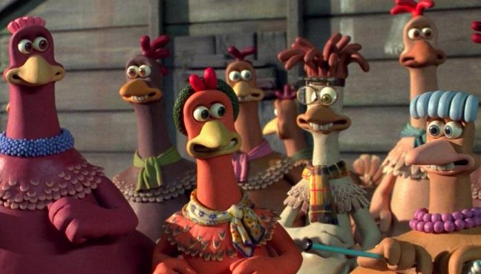 استاپ موشن فرار مرغی