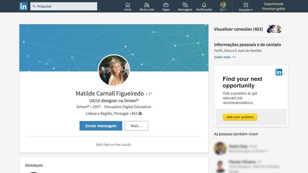 Linkedin/Profile