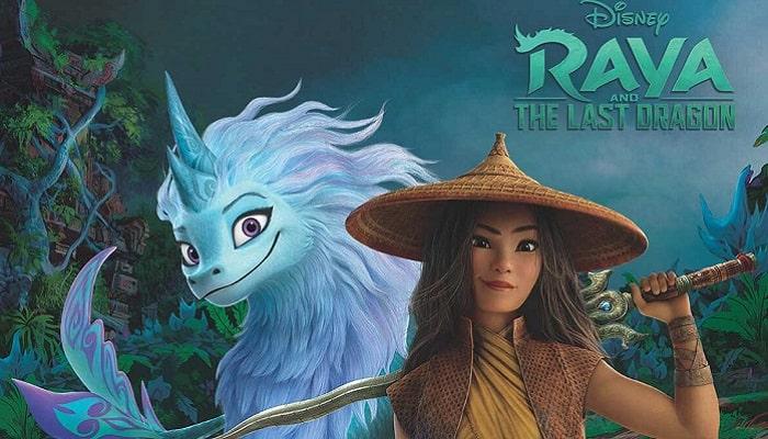 انیمیشن رایا و آخرین اژدها 2021