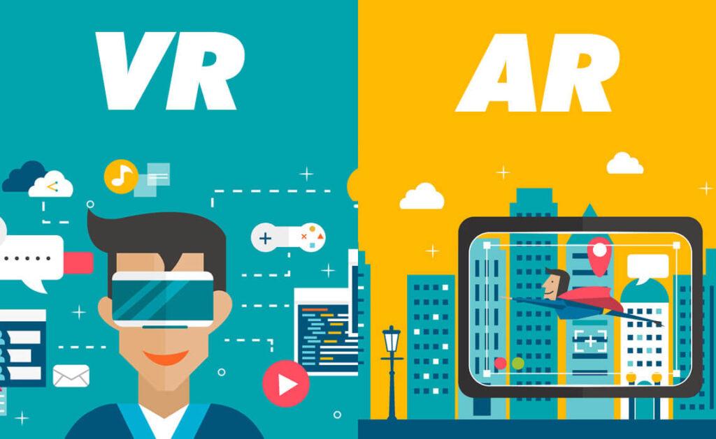 تفاوت VR و AR موارد معمول استفاده از واقعیت افزوده