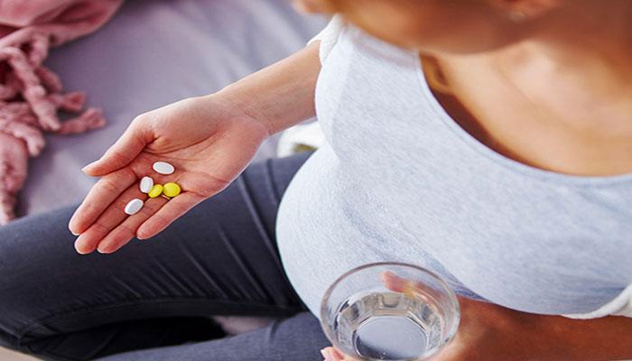 مصرف دارو در دوران بارداری توصیه نمی شود.