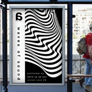 ترند طراحی گرافیک؛ توهمات نوری و هیپنوتیزم