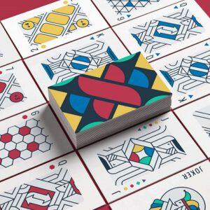 ترند طراحی گرافیک؛ ادغام اشکال هندسی با سه بعدی