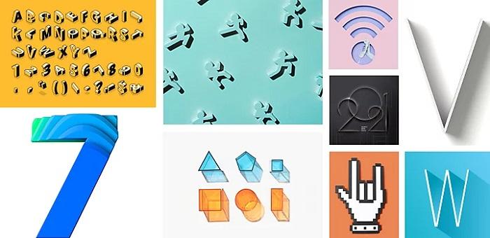 بارش فکری در طراحی لوگو سه بعدی