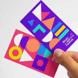 ترند طراحی گرافیک؛ اشکال هندسی