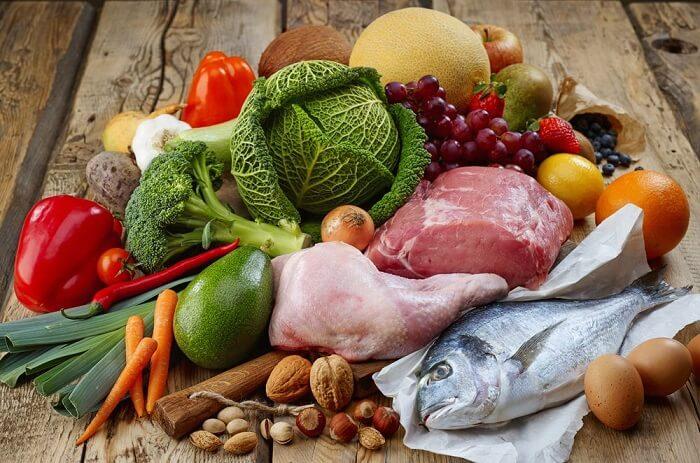 مواد غذایی رژیم غذایی پالئو