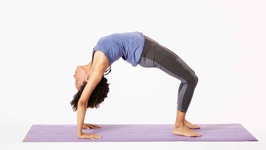 حرکت پل، برای انعطاف پذیری بدن.